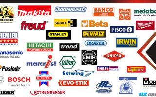 Производители электроинструмента: обзор основных марок и важные заметки